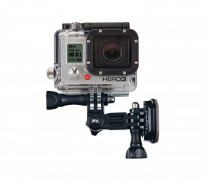 GoPro Side Mount AHEDM-001 - sistem prindere  laterala pentru casca [0]