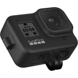 GoPro Sleeve + Lanyard AJSST-001 , husa de silicon + snur reglabil pentru HERO 8 , negru [7]