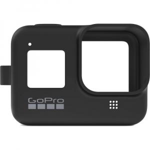 GoPro Sleeve + Lanyard AJSST-001 , husa de silicon + snur reglabil pentru HERO 8 , negru [3]