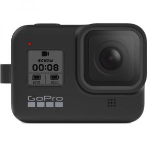 GoPro Sleeve + Lanyard AJSST-001 , husa de silicon + snur reglabil pentru HERO 8 , negru [6]