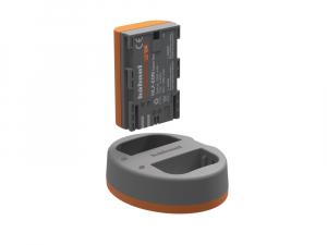 Hahnel HLX-E6N Extreme Power Kit , acumulator HLX-E6N + incarcator dual pentru Canon LP-E6N3