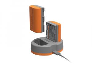 Hahnel HLX-E6N Extreme Power Kit , acumulator HLX-E6N + incarcator dual pentru Canon LP-E6N1