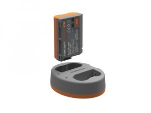 Hahnel HLX-EL15HP Extreme Power Kit , acumulator HLX-EL15 + incarcator dual pentru Nikon EN-EL152