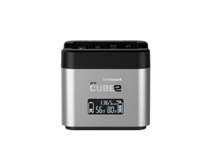 Hahnel - Pro Cube 2, Incarcator Dublu pentru Canon LP-E6, LP-E8, LP-E170