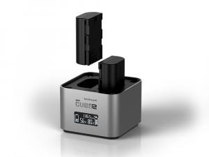 Hahnel - Pro Cube 2, Incarcator Dublu pentru Canon LP-E6, LP-E8, LP-E172