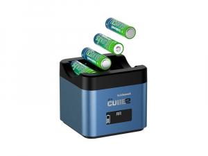 Hahnel - Pro Cube 2, Incarcator Dublu pentru Fujifilm si Panasonic [1]