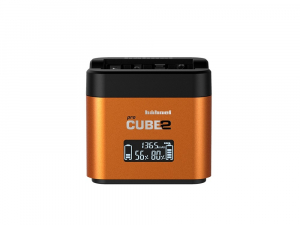 Hahnel - Pro Cube 2, Incarcator Dublu pentru Sony0