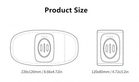 Suport GoPRO pentru rucsac cu suport dublu reglabil - GP-BPM-005 [9]