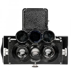 Heidoscop Stereo 6x13cm Tessar 4,5/75mm0