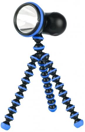 Joby GorillaTorch Original albastru - lampa lumina continua cu picioare flexibile [0]