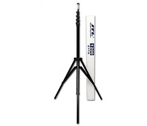 JTL 1200 stativ pentru lumini de studio, H max 4m, Pneumatic, negru [1]