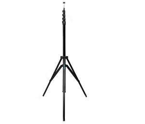 JTL 1200 stativ pentru lumini de studio, H max 4m, Pneumatic, negru [0]