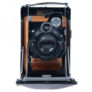 KW Patent Etui de Lux 9x12cm Tessar4,5/135mm0
