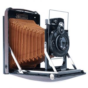 KW Patent Etui de Lux 9x12cm Tessar4,5/135mm3