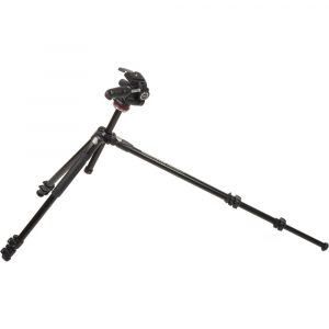 Manfrotto 290 XTRA3-3W , kit trepied foto cu cap 3 way4