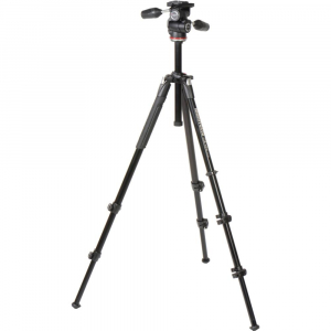 Manfrotto 290 XTRA3-3W , kit trepied foto cu cap 3 way1