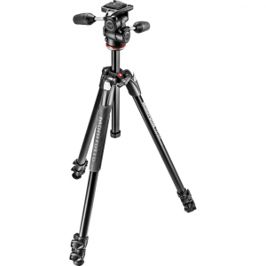 Manfrotto 290 XTRA3-3W , kit trepied foto cu cap 3 way0