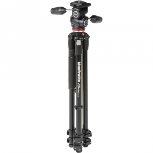 Manfrotto 290 XTRA3-3W , kit trepied foto cu cap 3 way2