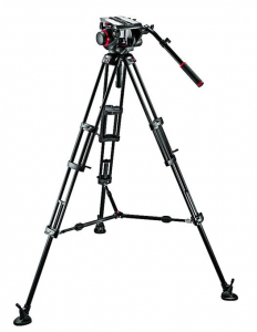 Manfrotto 545BK - Kit trepied video + cap video 509HD