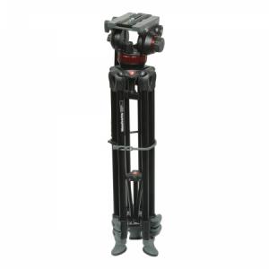 Manfrotto MVK502AM - Kit trepied video+ cap video MVA502A 1