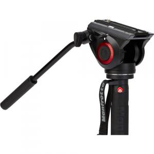 Manfrotto MVMXPRO500 kit monopied video cu baza fluida + cap video [4]