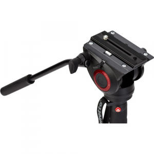 Manfrotto MVMXPRO500 kit monopied video cu baza fluida + cap video [6]