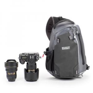 MindShiftGear PhotoCross 10 - Carbon Grey - rucsac cu o singura bretea1