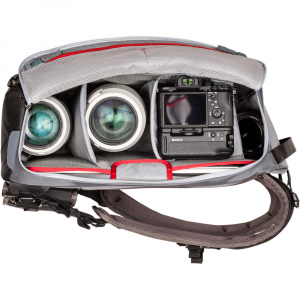 MindShiftGear PhotoCross 15 Backpack - Carbon Grey - rucsac foto [6]