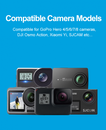 Monopod selfie din fibra de carbon 0.9M pentru Gopro - GP-MNP-90D [7]