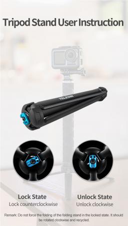 Monopod selfie din fibra de carbon 0.9M pentru Gopro - GP-MNP-90D [6]