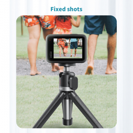 Mini trepied cu selfie stick pentru telefoane mobile și camere DSLR - GP-MNP-091-W [6]