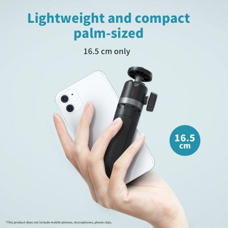 Mini trepied cu selfie stick pentru telefoane mobile și camere DSLR - GP-MNP-091-W [5]