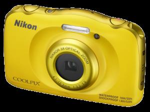 Nikon Coolpix W100 - subacvatic, filmare FHD Kit cu Rucsac -galben2