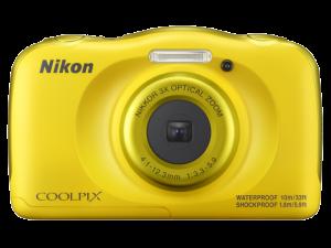 Nikon Coolpix W100 - subacvatic, filmare FHD Kit cu Rucsac -galben1