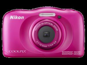 Nikon Coolpix W100 - subacvatic, filmare FHD Kit cu Rucsac -roz1