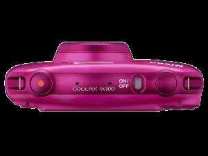 Nikon Coolpix W100 - subacvatic, filmare FHD Kit cu Rucsac -roz5
