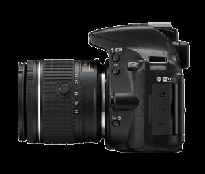 Nikon D5600 Kit AF-P 18-55mm VR, Negru5