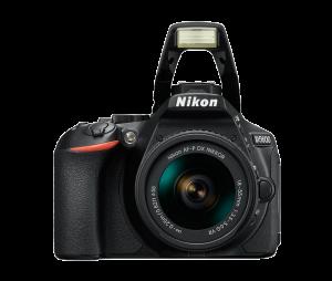 Nikon D5600 Kit AF-P 18-55mm VR, Negru2