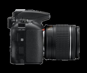Nikon D5600 Kit AF-P 18-55mm VR, Negru6