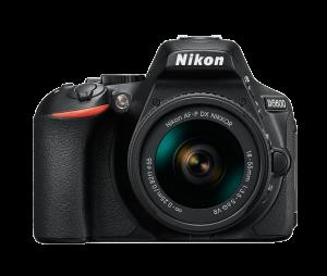 Nikon D5600 Kit AF-P 18-55mm VR, Negru0