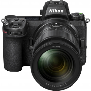 NIKON Z 7II  Kit cu Adaptor FTZ si  NIKKOR Z 24-70mm f/4 S  -  Nikon Z 7II Mirrorless Digital Camera0