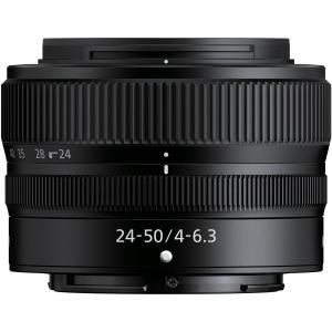 Nikon Z5 Aparat Foto Mirrorless Full Frame 24.3Mpx, Video 4K, Wi-Fi - Kit cu NIKKOR Z 24-50mm f/4-6.3 si Adaptor FTZ4