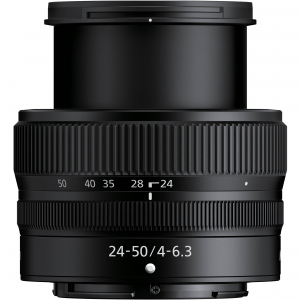 Nikon Z5 Aparat Foto Mirrorless Full Frame 24.3Mpx, Video 4K, Wi-Fi - Kit cu NIKKOR Z 24-50mm f/4-6.3 si Adaptor FTZ5