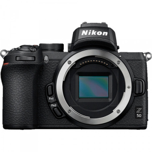 Nikon Z50 + 16-50mm f/3.5-6.3 VR + 50-250mm f/4.5-6.3 VR -  Aparat Foto Mirrorless 4K - Montura Z7