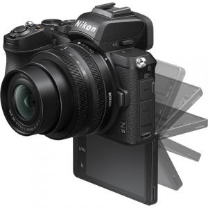 Nikon Z50 + 16-50mm f/3.5-6.3 VR + 50-250mm f/4.5-6.3 VR -  Aparat Foto Mirrorless 4K - Montura Z5