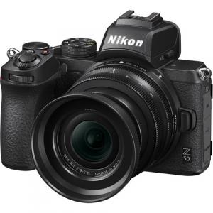 Nikon Z50 + 16-50mm f/3.5-6.3 VR + 50-250mm f/4.5-6.3 VR -  Aparat Foto Mirrorless 4K - Montura Z6