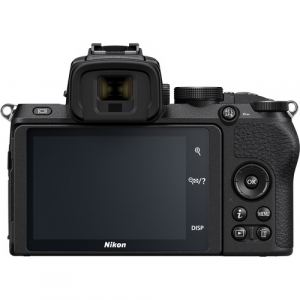 Nikon Z50 + 16-50mm f/3.5-6.3 VR + 50-250mm f/4.5-6.3 VR -  Aparat Foto Mirrorless 4K - Montura Z8