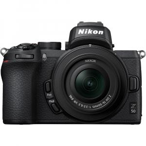 Nikon Z50 + 16-50mm f/3.5-6.3 VR -  Aparat Foto Mirrorless 4K - Montura Z0