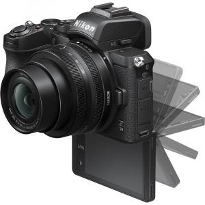Nikon Z50 + 16-50mm f/3.5-6.3 VR -  Aparat Foto Mirrorless 4K - Montura Z8