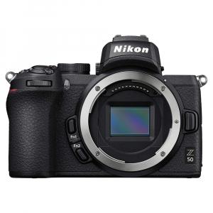 Nikon Z50 Body + adaptor Nikon FTZ,  Aparat Foto Mirrorless 4K - Montura Z1